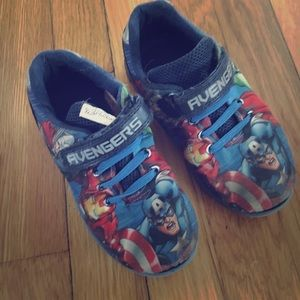 Other - Avengers Size 11 Velcro sneakers